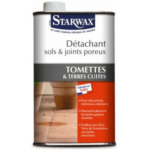 Starwax Détachant sols & joints poreux vg bidon 500 ml