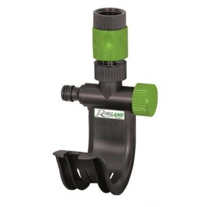 Image de Ribimex Support robinet pour tuyau d'arrosage avec raccord
