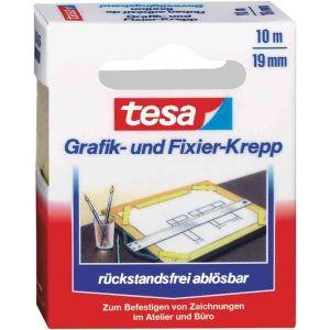 Tesa 57416-00000-02 - Rouleau adhésif Krepp (19 mm x 25 m)