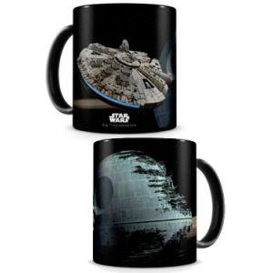 SD Toys Mug Millenium Falcon VS Étoile de la Mort Star Wars