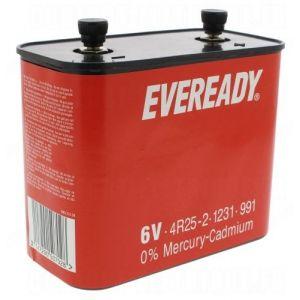 Energizer Pile eclairage 4R25-2 6 Volts Carbon/zinc - Garantie 1 an