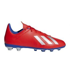 Adidas Chaussures de foot enfant X 18.4 fxg jr rouge - Taille 36,38,30,31,32,33,34,35,37 1/2,38 1/2,36 1/2