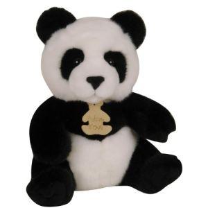 Histoire d'ours Peluche Les Authentiques : Panda 20 cm
