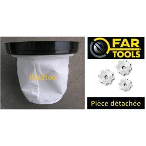 Far Tools 101814 - Filtre en tissu pour aspirateur PRO-NET70