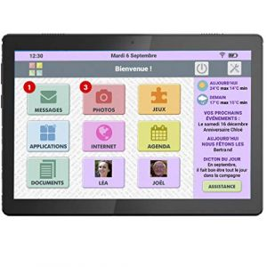 Cdip Tablette senior FACILOTAB L Rubis 10.1 32Go Lenovo