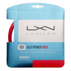 Luxilon Wilson Cordages pour Raquette, Alu Power 125 Limited Editon, Rouleau de 12,2 mètres, Rouge, 1,25 mm, Unisexe, WRZ990250