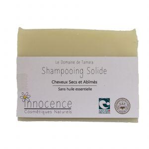 Le Domaine de Tamara Savon Shampoing Solide - Cheveux Secs et Abîmés - Sans Huile Essentielle