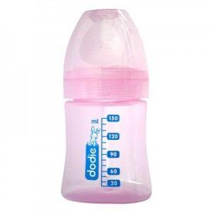 Image de Dodie Biberon Initiation+ en poypropylène 150 ml avec tétine Easy Air en silicone débit 1 (0-6 mois)