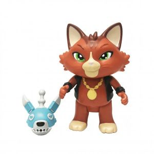 Smoby 44 Chats - Figurine Boss et son chien robot