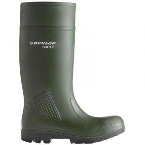 Dunlop Ejendals 462933 Purofort Bottes de sécurité Taille 40 Noir/Vert