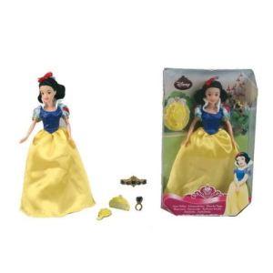 Simba Toys Poupée Blanche Neige avec accessoires (30 cm) - Disney Princesse