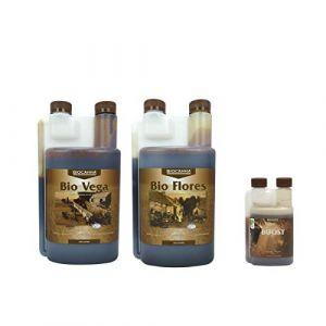 Pack engrais bio vega & flores - 1 litre - biocanna
