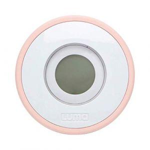 Luma Babycare Baby care Thermomètre de bain Digital en rose nuageux