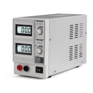 Velleman ALIMENTATION DC LAB 0-15 VCC / 0-3 A MAX AVEC DOUBLE ECRAN LCD - LABPS1503