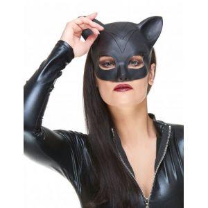 Demi Masque Latex Femme Chat Adulte