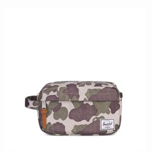 Herschel Trousse de toilette Chapter 21 cm Frog Camo Tan