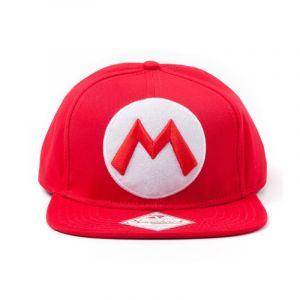 Casquette Nintendo Mario Logo