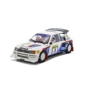 Scalextric Circuits de voitures : coffret - Peugeot 205 T16, 1985- 1/32-Scalextri