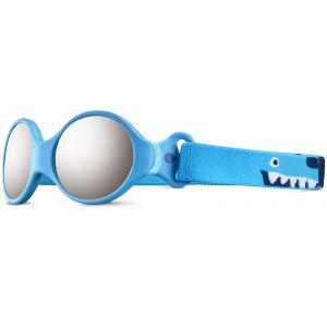 Julbo Loop S Spectron 4 Lunettes de soleil Enfant, blue turquoise/light blue/grey flash silver Lunettes