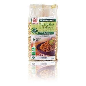 Celnat Boulgour 3 céréales à l'indienne bio - 300 g
