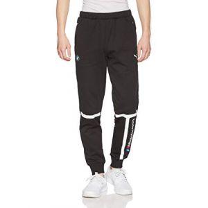 Puma Pantalon de Sweat tricoté BMW M Motorsport pour Homme Black S