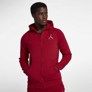 Nike Sweat à capuche entièrement zippé en tissu Fleece Jordan Jumpman pour Homme - Rouge - Taille S - Male
