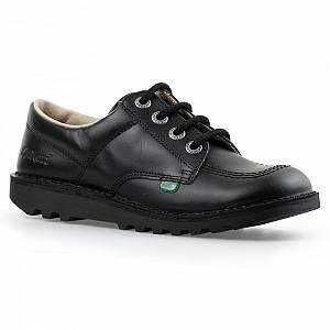 Kickers Chaussures Enfant Kick Lo -Noir - UK 12.5 Junior/EU 31 - Noir