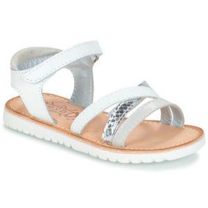 Mod'8 Sandales enfant SHELL blanc - Taille 28,29,30,31,32,33,34