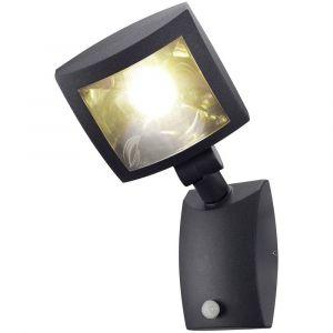 SLV MERVALED S applique, anthracite, 12W LED blanc chaud, avec détecteur de mouvement DECLIC