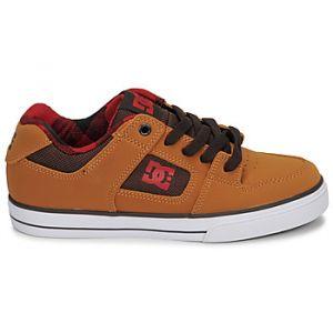 DC Shoes Chaussures de Skate enfant PURE SE jaune - Taille 36,37,38,39,34,35