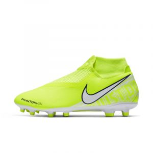 Nike Chaussure de footballà crampons multi-surfaces Phantom Vision Academy Dynamic Fit MG - Jaune - Taille 44 - Unisex