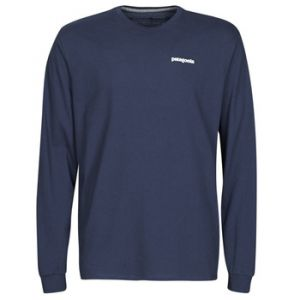 Patagonia T-shirt M's L/S P-6 Logo Responsibili-Tee - Couleur XXL,S,M,L,XL - Taille Bleu