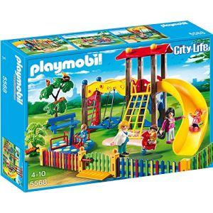 Playmobil 5568 City Life - Square pour enfants avec jeux