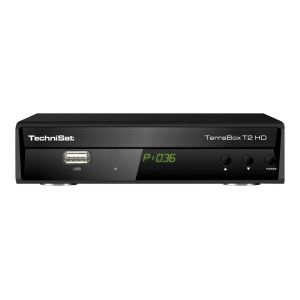 TechniSat TerraBox T2 HD - Décodeur TNT DVB-T2 HD MPEG4