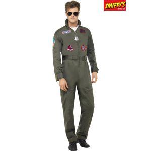 Smiffy's Déguisement pilote Top Gun homme (taille M, L ou XL)