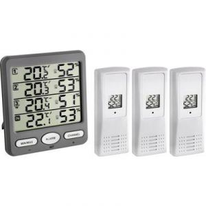 TFA Dostmann 30.3054.10 - Klima-Monitor Funk-Thermo-Hygrometer