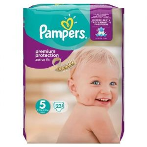 Pampers Active Fit taille 5 (11-25 kg) - 23 couches