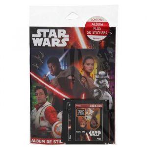 Topps Attax SW081 - Star Wars Episode VII - Le Reveil de la Force - Album + 6 Stickers