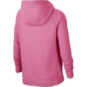 Nike Sweat Pe Full Zip Rose - Taille 12 Ans