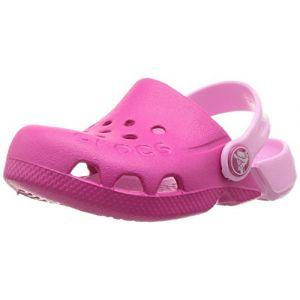Crocs Electro, Sabots Mixte Enfant, Rose (Candy Pink/carnation) 30/31 EU