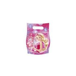 6 sacs de fête Barbie