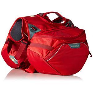 Ruffwear Sac de bât pour chien Palisades Pack rouge Taille : L / XL