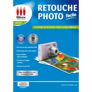 Retouche photo facile pour Windows