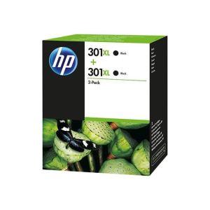 HP D8J45AE - 2 Cartouches d'encre 301XL noire