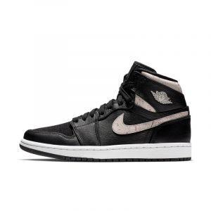 Nike Chaussure Air Jordan 1 Retro Premium pour Femme - Noir - Couleur Noir - Taille 35.5
