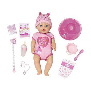 Zapf Creation Poupée BABY born Soft Touch Girl rose/rose vif