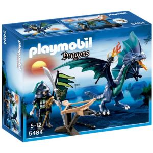 Playmobil 5484 Dragons - Dragon avec guerrier