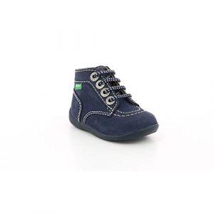 Kickers Boots enfant Bonbon Rose - Taille 18,19,20,21,22,23,24