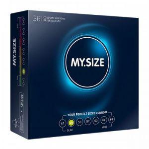 Image de My size My.Size 49 36 Préservatifs Standard, Taille Petite
