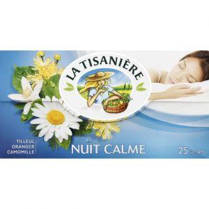 La Tisanière Infusion nuit calme, tilleul, oranger et camomille